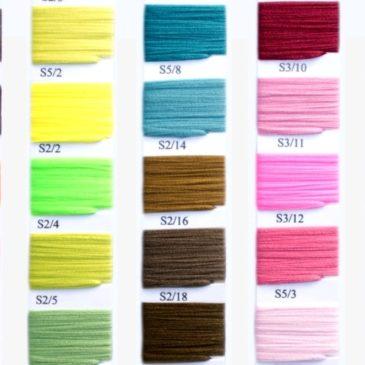 Paleta kolorów gumek okrągłych