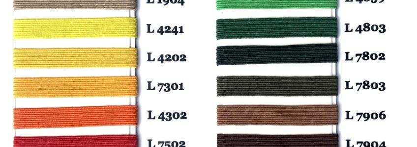 Podstawowe kolory gumek płaskich_top